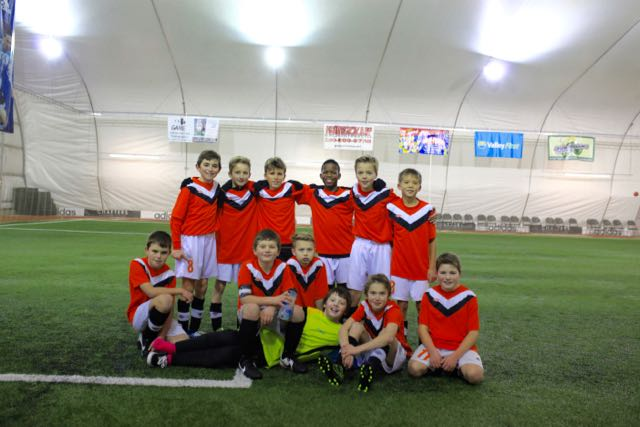 U11-12 Development Boys record 2 wins in Penticton