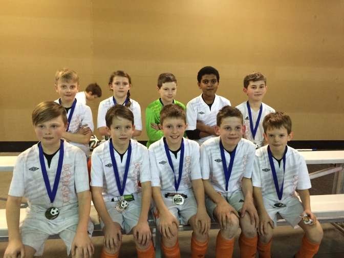 U10 Development Team strikes gold