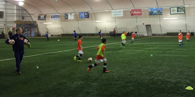 U9's find their Groove in Penticton !