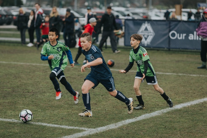 Soccaskool Players Shine in Whitecaps Colours